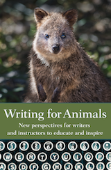 cover of Writing for Animals